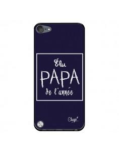 Coque Elu Papa de l'Année Bleu Marine pour iPod Touch 5 - Chapo