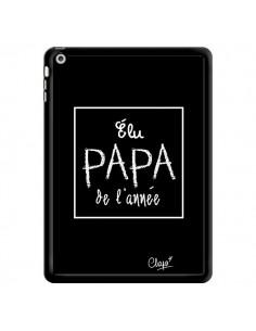 Coque Elu Papa de l'Année Noir pour iPad Air - Chapo