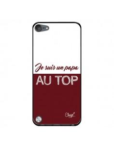 Coque Je suis un Papa au Top Rouge Bordeaux pour iPod Touch 5/6 et 7 - Chapo
