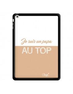 Coque Je suis un Papa au Top Beige pour iPad Air - Chapo