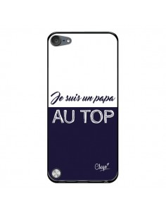 Coque Je suis un Papa au Top Bleu Marine pour iPod Touch 5/6 et 7 - Chapo