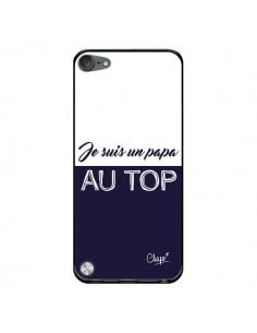 Coque Je suis un Papa au Top Bleu Marine pour iPod Touch 5 - Chapo