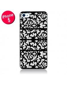 Coque Abstrait Noir et Blanc pour iPhone 5 - Irene Sneddon