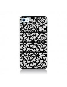 Coque Abstrait Noir et Blanc pour iPhone 4 et 4S - Irene Sneddon