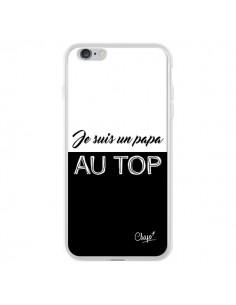 Coque Je suis un Papa au Top Noir pour iPhone 6 Plus et 6S Plus - Chapo