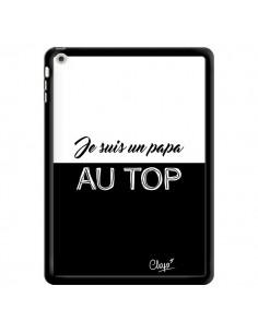 Coque Je suis un Papa au Top Noir pour iPad Air - Chapo