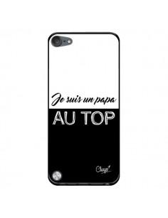 Coque Je suis un Papa au Top Noir pour iPod Touch 5/6 et 7 - Chapo