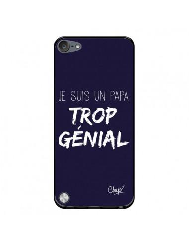 Coque Je suis un Papa trop Génial Bleu Marine pour iPod Touch 5/6 et 7 - Chapo