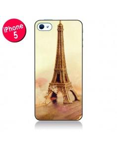 Coque Tour Eiffel Vintage pour iPhone 5 - Irene Sneddon