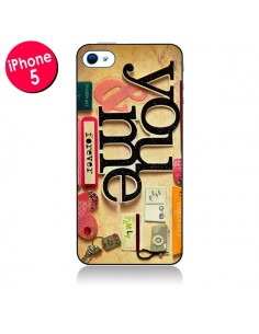 Coque Me And You Love Amour Toi et Moi pour iPhone 5 - Irene Sneddon