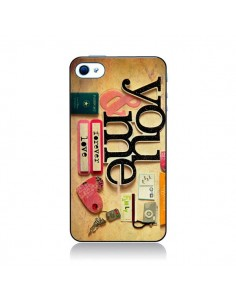 Coque Me And You Love Amour Toi et Moi pour iPhone 4 et 4S - Irene Sneddon