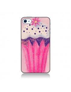 Coque Cupcake Rose pour iPhone 4 et 4S - Irene Sneddon
