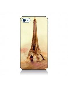 Coque Tour Eiffel Vintage pour iPhone 4 et 4S - Irene Sneddon