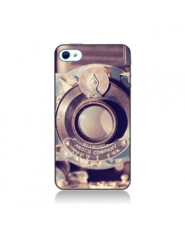 Coque Appareil Photo Vintage Findings pour iPhone 4 et 4S - Irene Sneddon