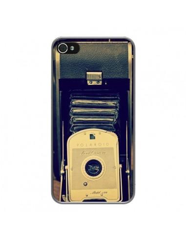 coque appareil photo vintage polaroid boite pour iphone 4 et 4s r delean. Black Bedroom Furniture Sets. Home Design Ideas
