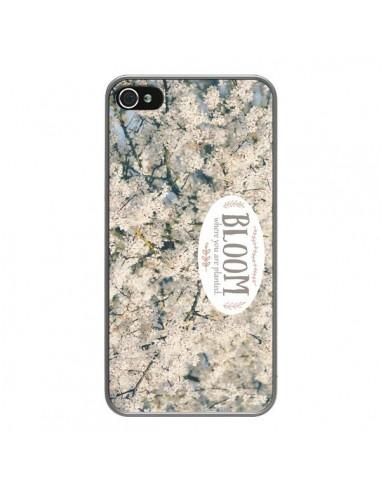 Coque iPhone 4 et 4S Bloom Fleur Cerisier - R Delean