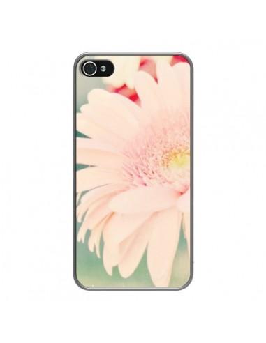 Coque iPhone 4 et 4S Fleurs Roses magnifique - R Delean
