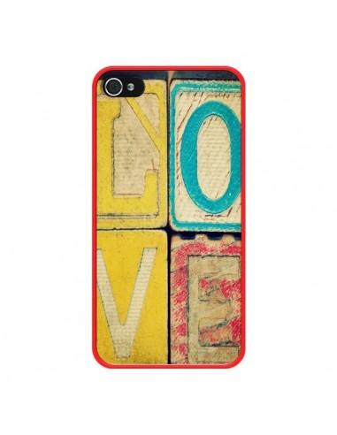 Coque iPhone 4 et 4S Love Amour Jeu -...