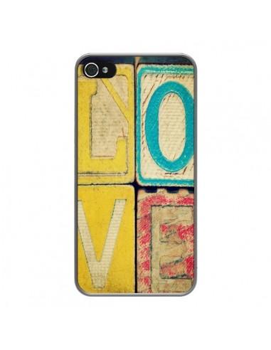 Coque iPhone 4 et 4S Love Amour Jeu - R Delean