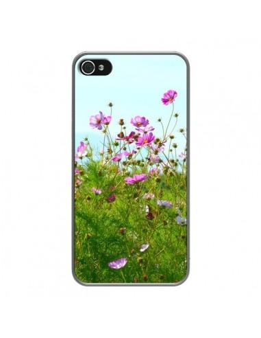 Coque iPhone 4 et 4S Fleurs Roses...