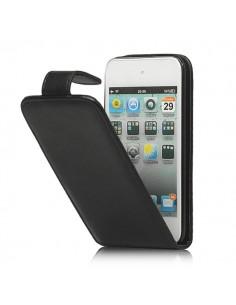 Flip Case simili Cuir Noir pour iPod Touch 4