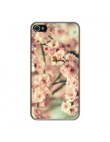 Coque iPhone 4 et 4S Fleurs Summer - R Delean
