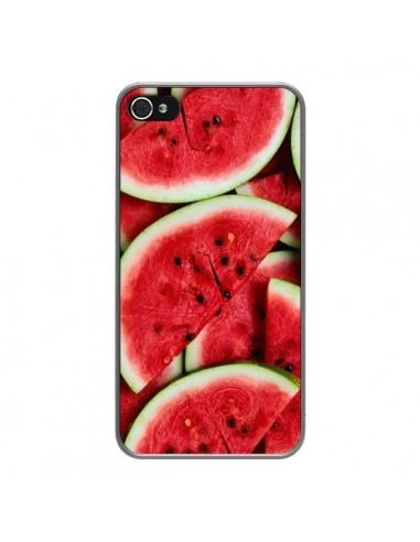 coque iphone 4 et 4s pasteque watermelon fruit laetitia