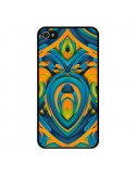 Coque iPhone 4 et 4S Cross Heart Azteque C?ur - Eleaxart
