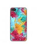 Coque iPhone 4 et 4S Splashes Peintures - Eleaxart