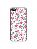 Coque iPhone 4 et 4S Etoiles de mer Estrellitas - Eleaxart