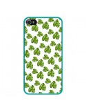Coque iPhone 4 et 4S Plantes vertes - Eleaxart