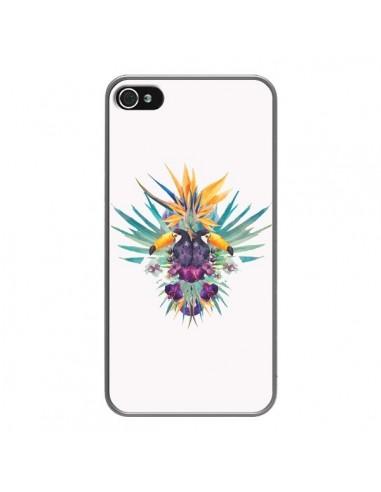 Coque iPhone 4 et 4S Exotic Toucans Summer Ete - Eleaxart