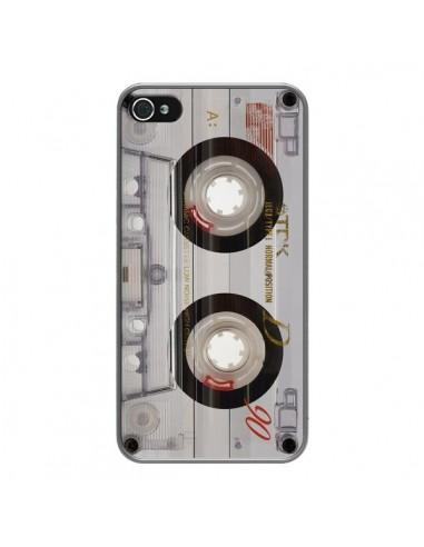 Coque iPhone 4 et 4S Cassette Transparente K7 - Maximilian San