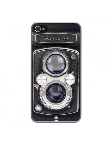 Coque iPhone 4 et 4S Vintage Camera Yashica 44 Appareil Photo - Maximilian San