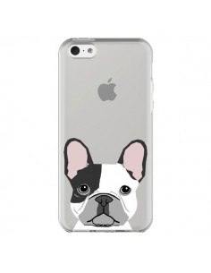 Coque Bulldog Français Chien Transparente pour iPhone 5C - Pet Friendly