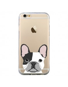 Coque Bulldog Français Chien Transparente pour iPhone 6 et 6S - Pet Friendly