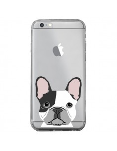 Coque iPhone 6 Plus et 6S Plus Bulldog Français Chien Transparente - Pet Friendly