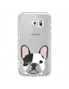 Coque Bulldog Français Chien Transparente pour Samsung Galaxy S6 - Pet Friendly