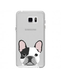 Coque Bulldog Français Chien Transparente pour Samsung Galaxy Note 5 - Pet Friendly