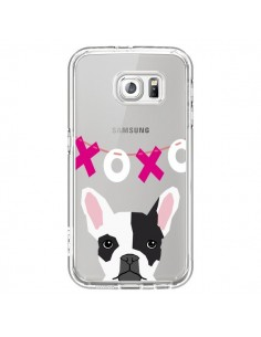 Coque Bulldog Français XoXo Chien Transparente pour Samsung Galaxy S6 - Pet Friendly