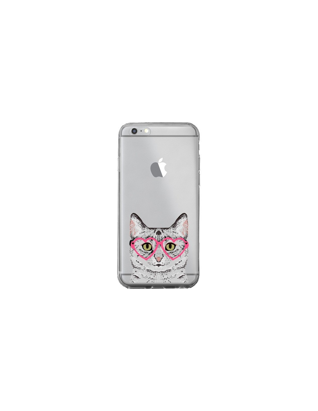 coque iphone 6 chat gris