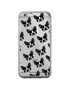Coque iPhone 6 Plus et 6S Plus Chiens Boston Terrier Transparente - Pet Friendly
