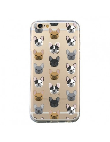Coque Chiens Bulldog Français Transparente pour iPhone 6 et 6S - Pet Friendly