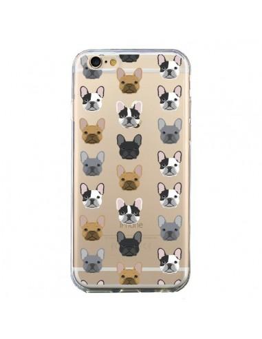 coque iphone 6 et 6s chiens bulldog français transparente pet friendly