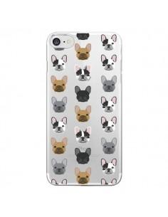 Coque Chiens Bulldog Français Transparente pour iPhone 7 - Pet Friendly