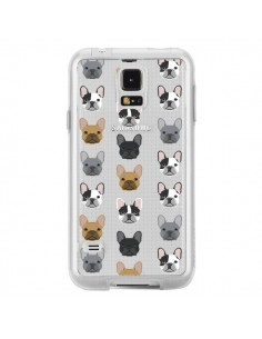 Coque Chiens Bulldog Français Transparente pour Samsung Galaxy S5 - Pet Friendly