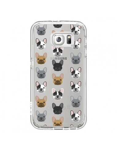 Coque Chiens Bulldog Français Transparente pour Samsung Galaxy S6 - Pet Friendly