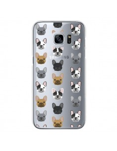 Coque Chiens Bulldog Français Transparente pour Samsung Galaxy S7 - Pet Friendly
