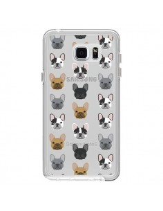 Coque Chiens Bulldog Français Transparente pour Samsung Galaxy Note 5 - Pet Friendly
