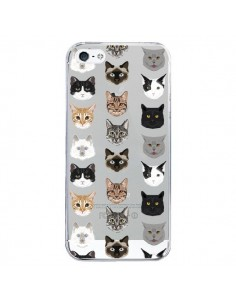 Coque Chats Transparente pour iPhone 5/5S et SE - Pet Friendly